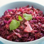 Spiced Red Cabbage with Apple