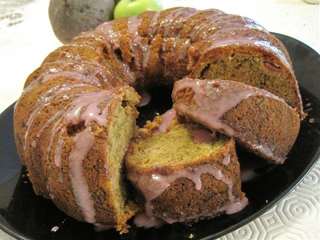 apple beet cake