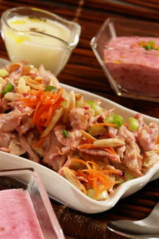 chrein chicken salad