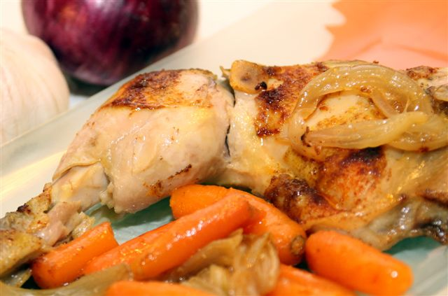 savory shabbos chicken