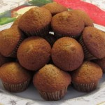 mini honey cake muffins